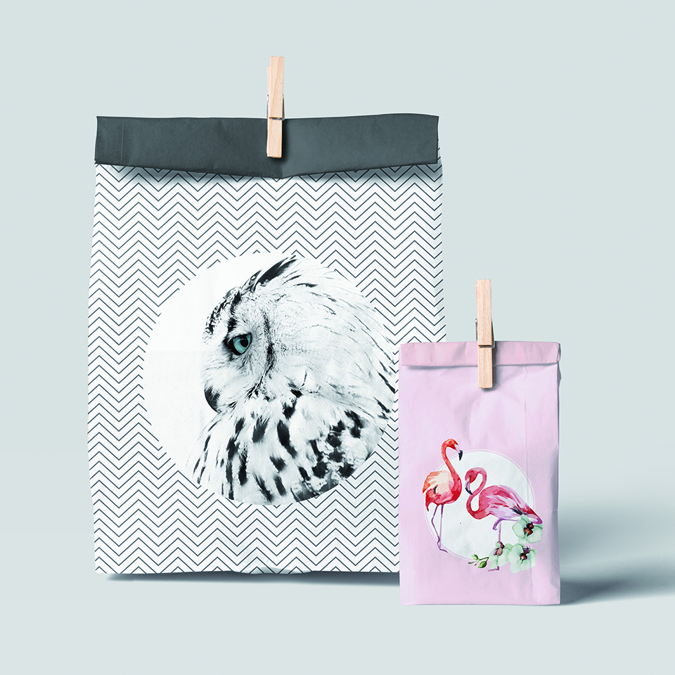 Papírové tašky