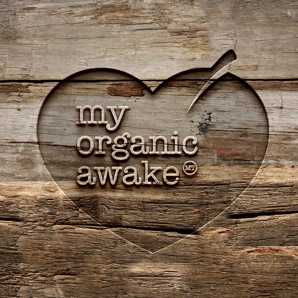 Logo my organic awake