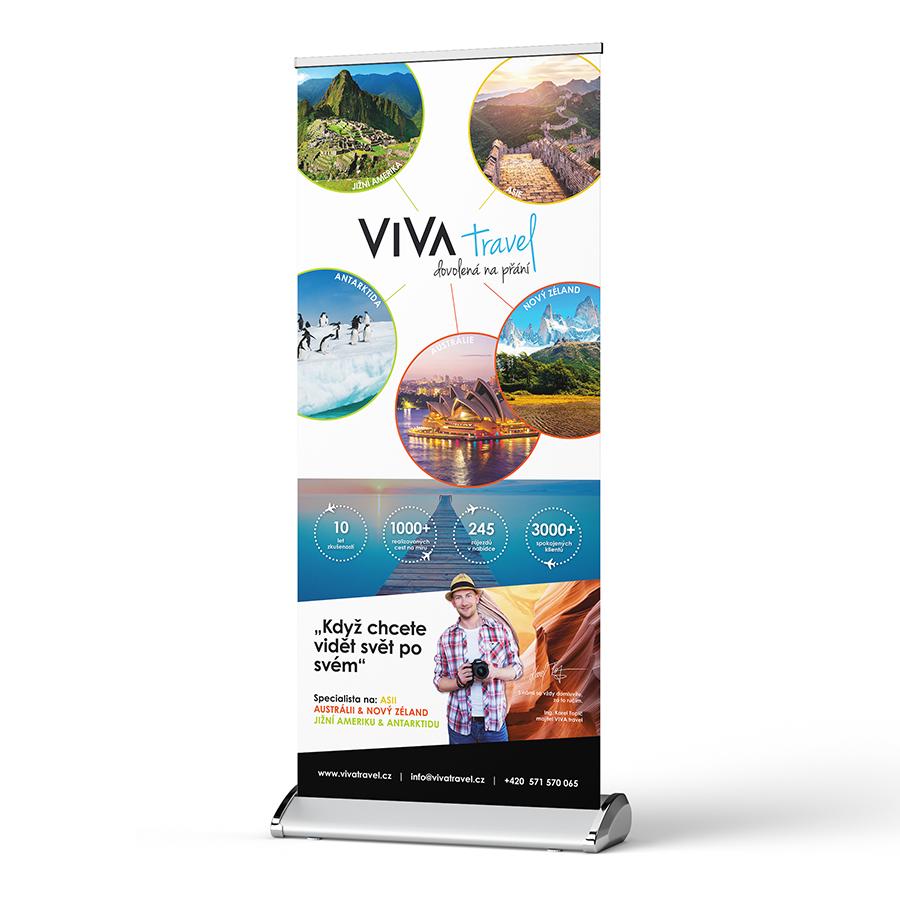 Roll-up Viva Travel